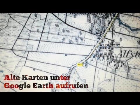 Sondeln - Wie Ihr die alten Karten unter Google Earth einfügt und bedient!! Kleine Hilfestellung...