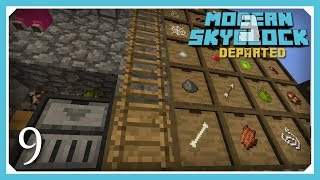 02 - Fast Trees, Combustion Heater - Modern Skyblock 3