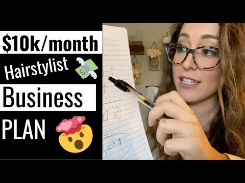 , title : '💰How to make $10k per month as a hairstylist    Hairstylist Business Plan for 2020!