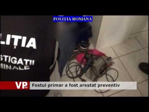 Fostul primar a fost arestat preventiv