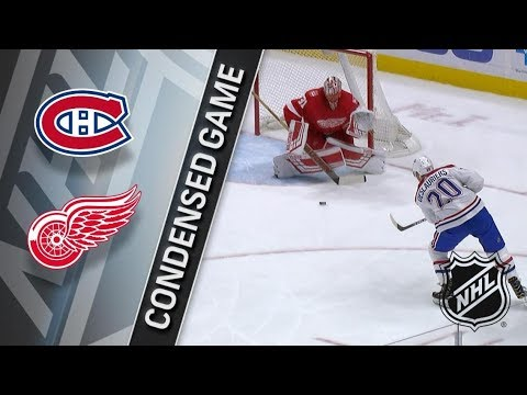 Montreal Canadiens vs Detroit Red Wings – Apr. 05, 2018 | Game Highlights | NHL 2017/18. Обзор