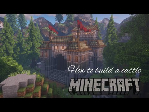 Small Medieval Castle Tutorial Minecraft Map