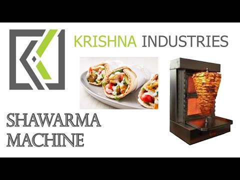 TABLE TOP SHAWARMA MAKING MACHINE