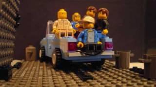 "Michael Jackson's ""Beat It"" - In Lego"