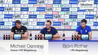 PK vor Spiel gegen Regensburg