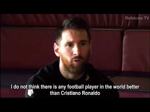 Lionel Messi • Exclusive Interview on Cristiano Ronaldo • 2018