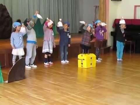 オペレッタ「海賊たちと宝島」へいわ幼稚園