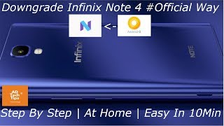 Infinix note 4 x572 flashing/ infinix note 4 x572 hang on