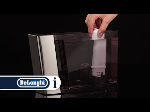 How to install a water softener filter in your De'Longhi PrimaDonna Elite ECAM 650.75 coffee machine