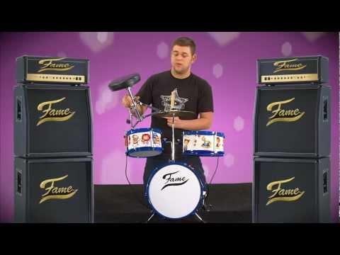 FAME Kiddy Set Junior Drumset Schlagzeug