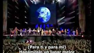 Michael Jackson - Heal The World Live Munich (Subtitulado Español)