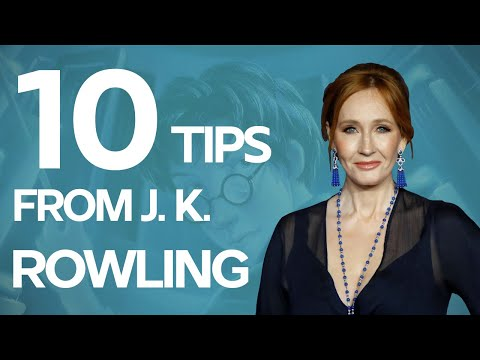 10 Writing Tips from J.K. Rowling