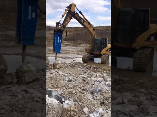 Видео1 Гидромолот NKB 1450