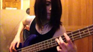 Avenged Sevenfold - Paranoid Bass Cover (Of A Terrible Cover)