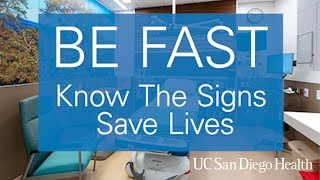 Know the Signs of a Stroke - BE FAST