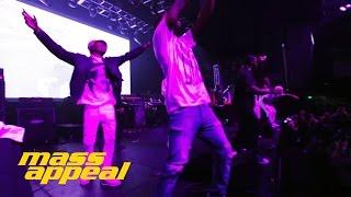 A$AP Mob - Work (Mass Appeal Live SXSW 2014)