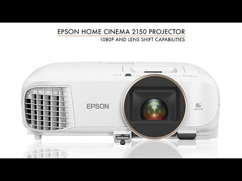 Epson Home Cinema 2100 and Home Cinema 2150 Projectors 1080p Under $1000