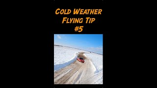 Cold Weather FPV Flying Tip 5 - #shorts