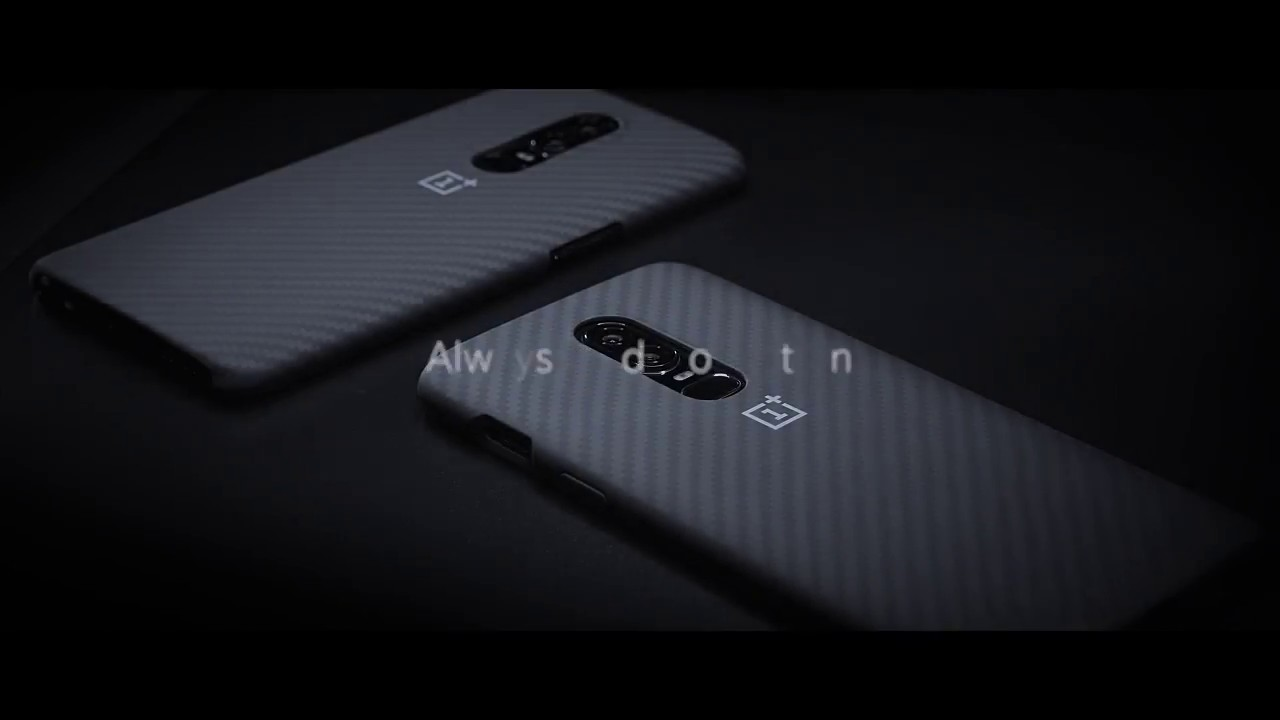 Чехол фирменный OnePlus 6 Sandstone Protective Case video preview
