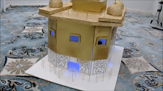 how to make golden temple model with cardboard - 免费在线