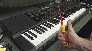 EEVblog #1108 - Casio CT-X700 Keyboard Teardown