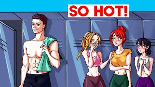 I'm The Only Guy In The Gym And The Girls Want Me...   My Story Animated