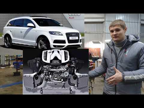 Фото к видео: Самый мощны дизельный мотор AUDI Q7 V12TDI 1000н.м.