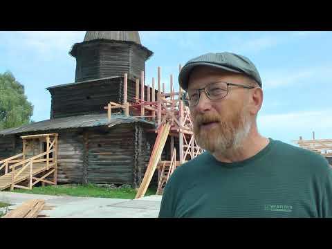 Видео: реставрация церкви Успения Богородицы в «Витославлицах»