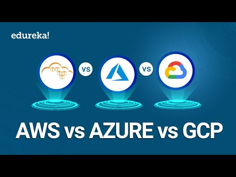 AWS vs Azure vs GCP | Difference Between AWS, Azure & GCP | Cloud Certification Training | Edureka