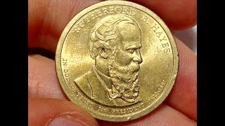 Rutherford B. Hayes United States Dollar Coin