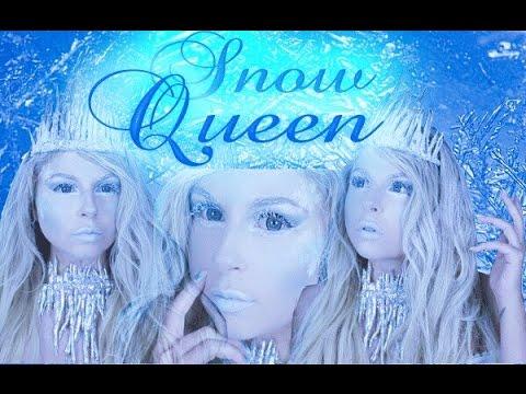 EASY Snow-Queen / Ice-Princess & DIY Krone + Kette I Fasching / Karneval