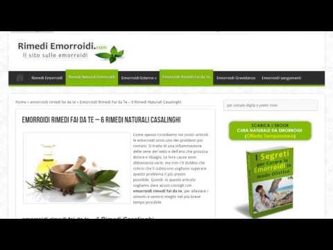 Cura di emorroidi urinoterapiya