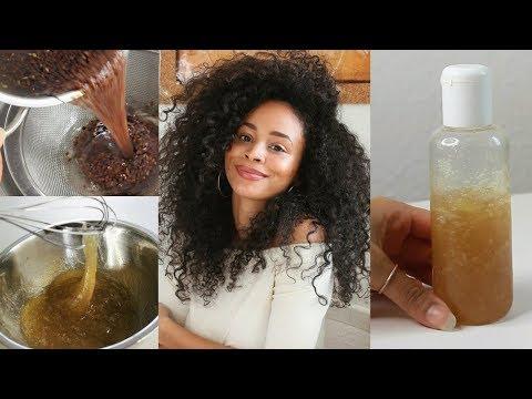 DIY 100% natürlicher Leave-In • Leinsamen-Gel für gesunde Afrolocken
