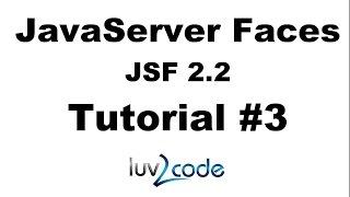 JSF Tutorial #3 - Java Server Faces Tutorial (JSF 2.2) - Setup Your Development Environment