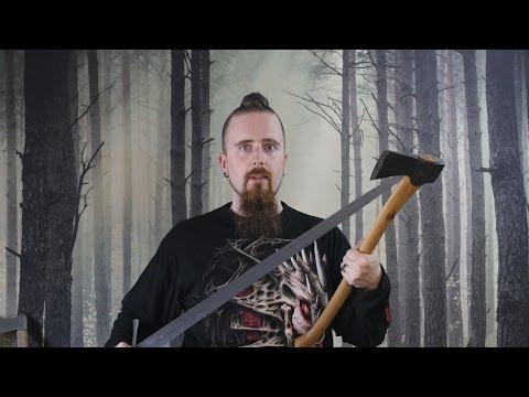 Skallagrim - Dřevorubec vs. bojovník
