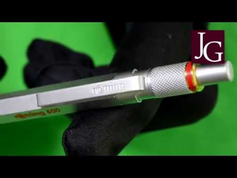 Rotring 600 Kugelschreiber / Ballpen