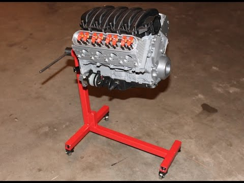 Chevy Camaro LS3 V8 Engine - Scale Working Model by