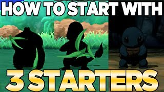 How to Get 3 Starters in Pokemon Ultra Sun & Moon | Austin John Plays
