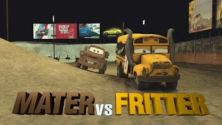 RACE n CHASE Thunder Hollow, Lets Race MUD DURBY CARS! Miss Fritter vs. Mater