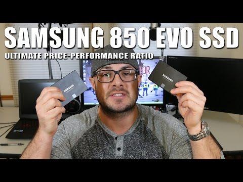 Samsung 850 EVO SSD - Great SSD for an insane price!