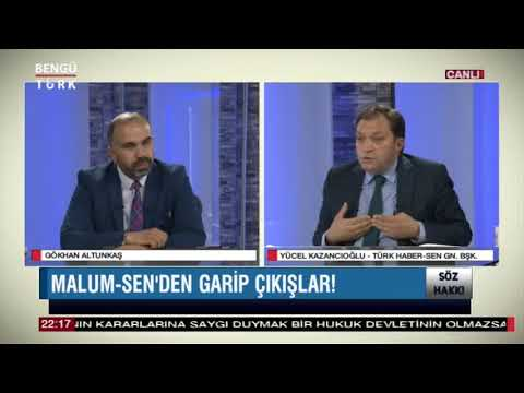 Genel Başkanımız Yücel KAZANCIOĞLU Bengütürk TV'de Gündemi Değerlendirdi.