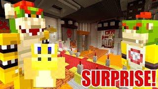 10 MILLION DOLLAR HOUSE MAKEOVER SURPRISE!   Super Mario Series   Minecraft [280]