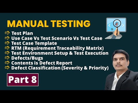 Manual Software Testing Training Part-8 | FREE YouTube Live ...
