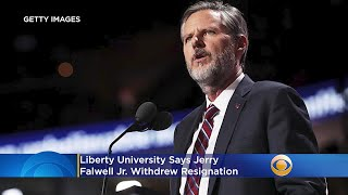 Liberty University Says Jerry Falwell Jr. Withdrew Resignation, Board Meeting Tuesday