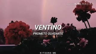 """Ventino   """"Prometo Olvidarte""""   Letra"""