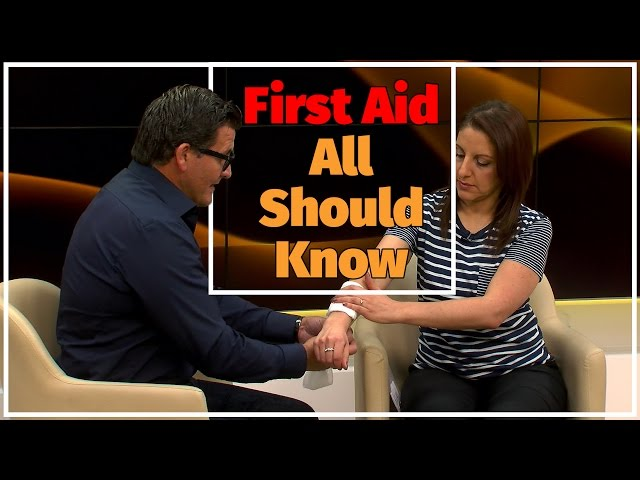 Basic First Aid everyone should know