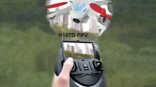 MINI DRON HUBSAN X4 H107D FPV