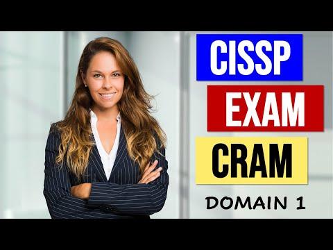 CISSP EXAM CRAM - DOMAIN 1 Security and Risk Management ...