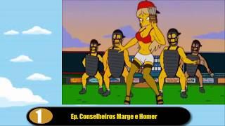 10 cenas eróticas nos Simpsons