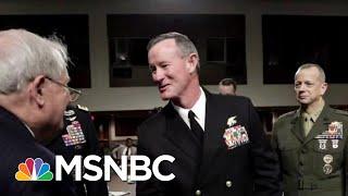 President Donald Trump Blasts Retired Navy SEAL Who Led Bin Laden Raid   Hallie Jackson   MSNBC